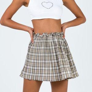 Princess Polly Plaid Skirt